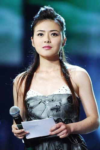 上海车展 明星访谈之美女主播陈辰