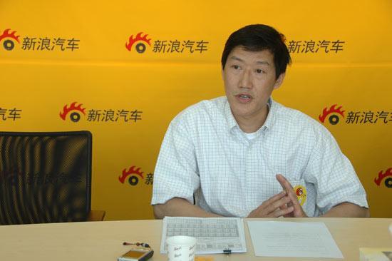 一汽丰田华北分部总监李湘先生在新浪汽车接受专访