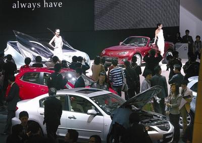 2009上海车展现场