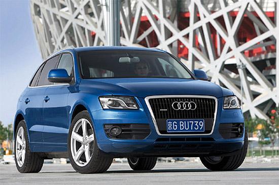 图1:2008年北京车展,奥迪借势北京奥运全球首发量产版Q5车型,然而奥运会已经成功举办近一年,奥迪Q5却仍迟迟未在国内市场上市。