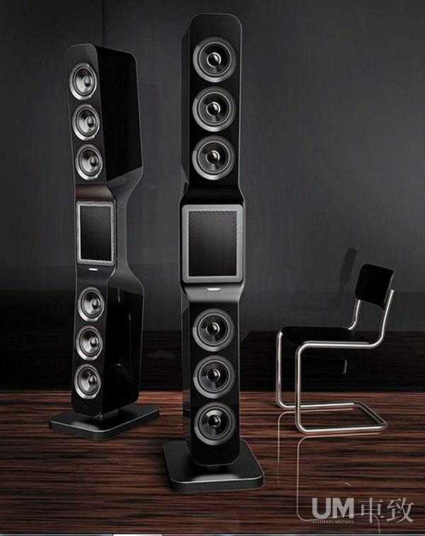 德国Hi-End级品牌G?bel碳纤维音箱