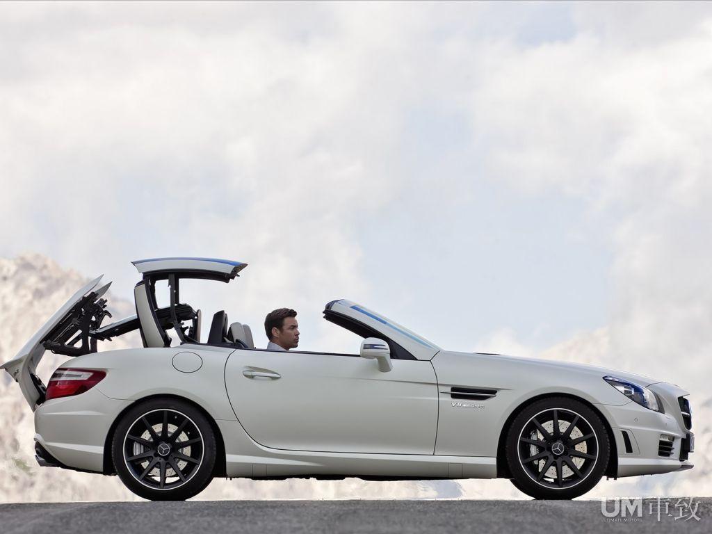 奔驰全新SLK 55 AMG发布