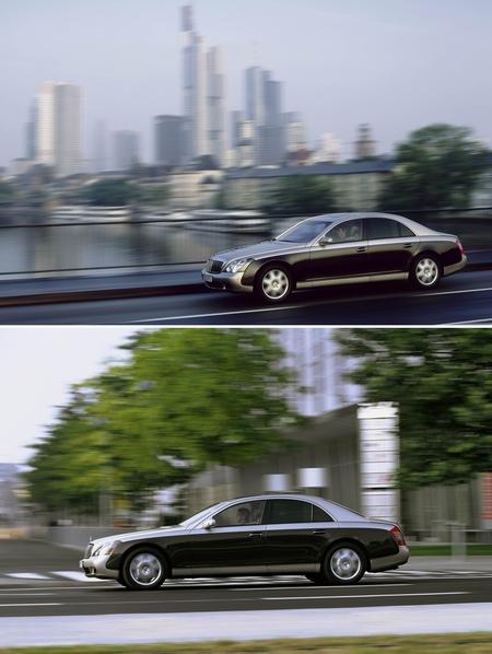 组图:法兰克福车展--迈巴赫顶级豪华轿车(三)