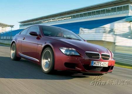 组图:新款宝马M6轿跑车亮相性能出众