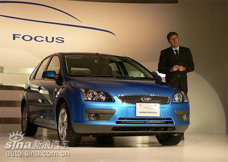 福特在日本发布新两厢福克斯与马3为同一平台
