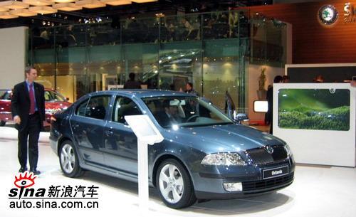 上海大众斯柯达首款车型Octavia有望07年初上市
