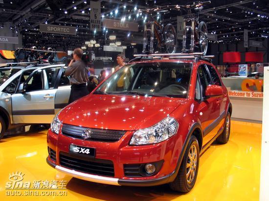 长安铃木YY5下半年上市三厢轿跑车型锁定SX4?