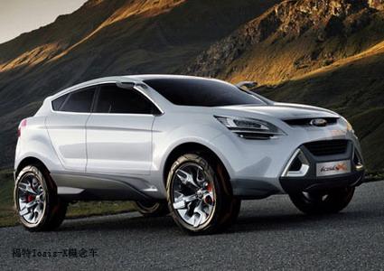 福特新款小型SUV谍照曝光 预计售价27万高清图片