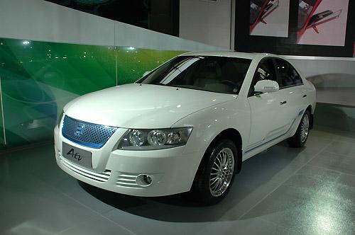 图解广汽四款自主概念车--A-EV概念车