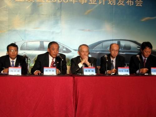 广丰2008凯美瑞目标17.5万辆雅力士年中上市