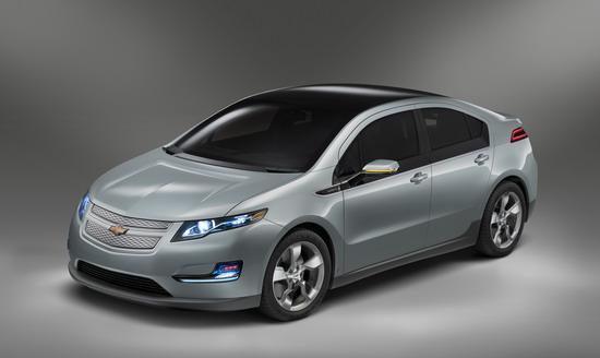 全球首款量产版电动车Volt2011年中国上市