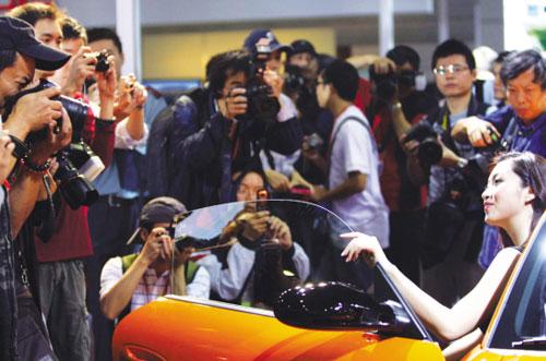 参展记者比上届少两成金融危机影响中国车市