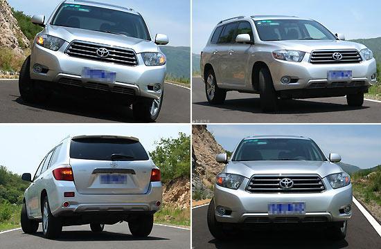 丰田汉兰达今年国产前期国产车型为2.7升