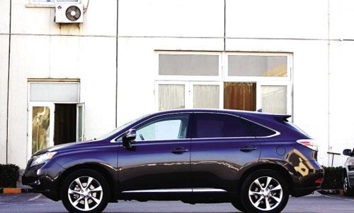 雷克萨斯新RX350上市预估豪华SUV劲增7%
