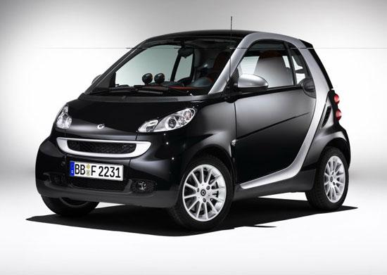 奔驰Smart现车到店四款车型15.8万起售(组图)