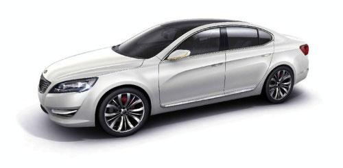起亚发布高端旗舰车型KND-5概念车即将亮相