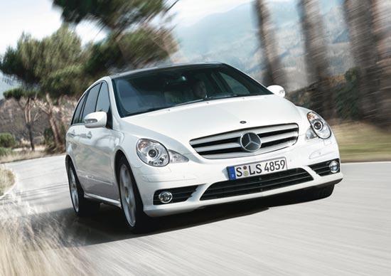 奔驰R350最高优惠5万元最低售76.8万元