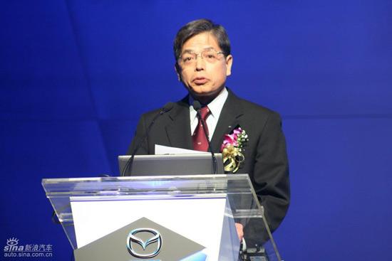 马自达(中国)总裁山田宪昭:看好中国市场潜力