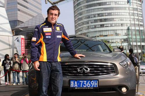 F1冠军车手阿隆索:找不到停止的理由
