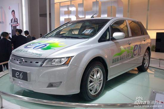 比亚迪电动车E6申报国家目录年底上市预售30万
