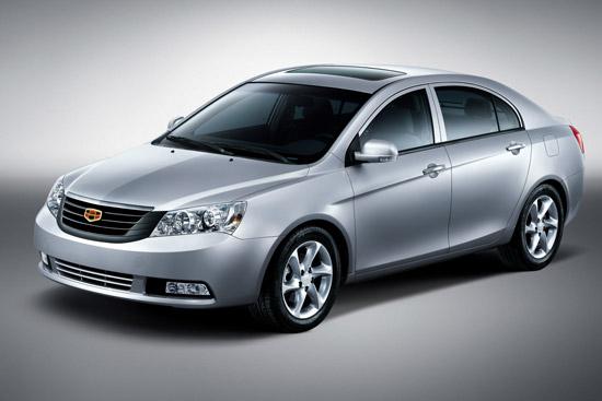 吉利首款B级车帝豪EC718将于八月上市(图)