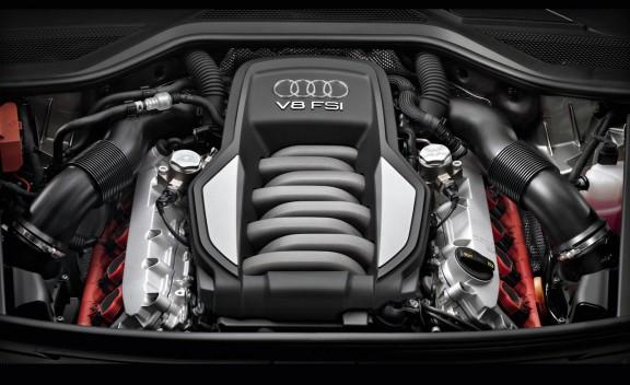 海外初评第三代奥迪A8-先期搭载4.2升发动机