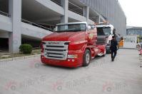 2011上海车展探馆:Scania R999敞篷卡车