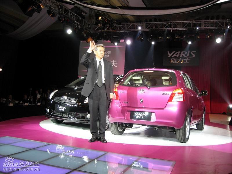 丰田toyota是什么车-丰田汽车公司首席工程师铃木敏夫高清图片