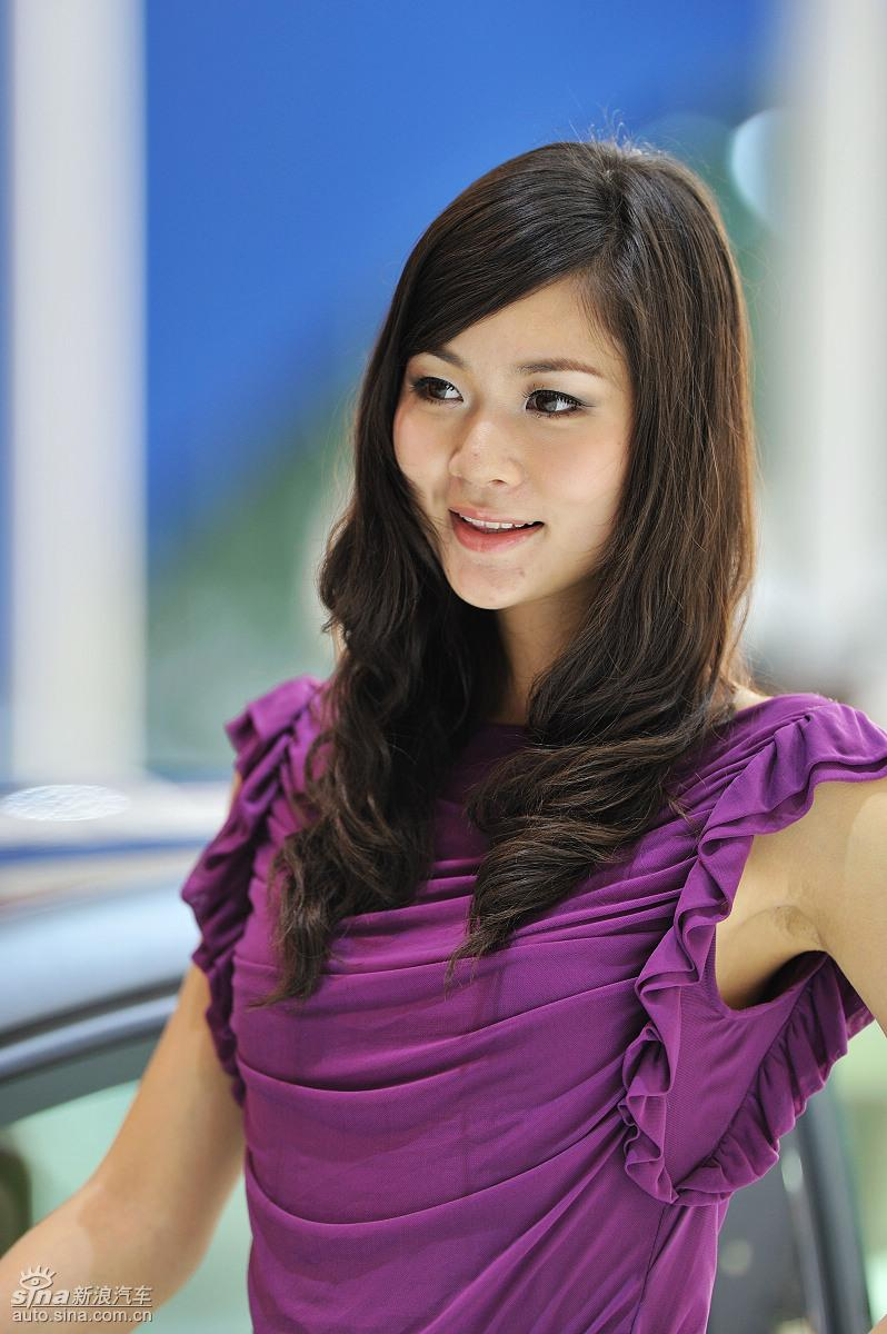 广州车展美女高清图 图片