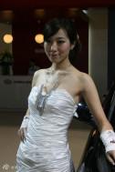 2010重庆车展美女车模