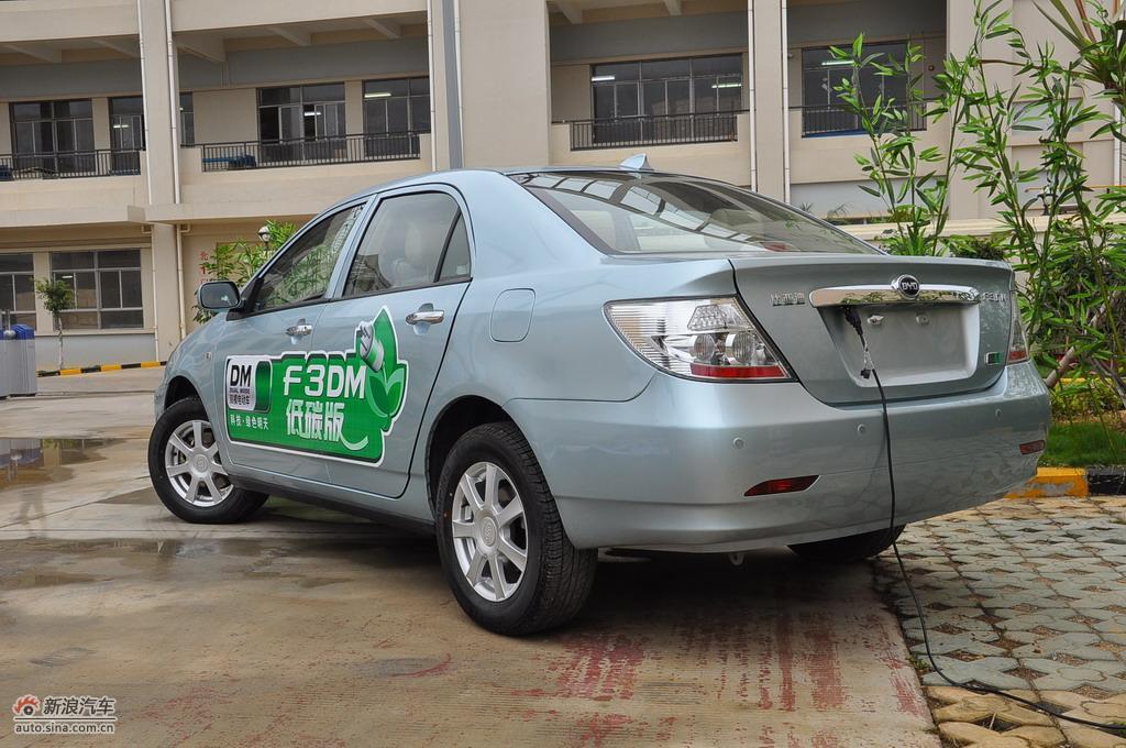 比亚迪F3DM低碳版外观实拍图