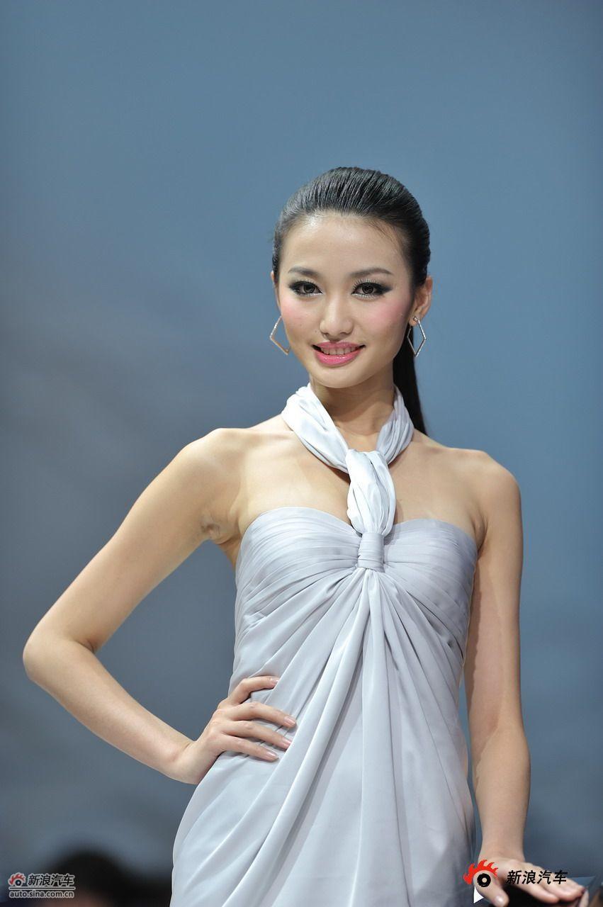 中国车展上的美女车模 图片 新浪汽车 新浪网
