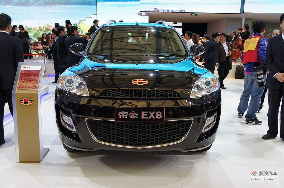 帝豪EX8将产四驱车型未来将搭8速变速器