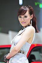 起亚展台9号模特