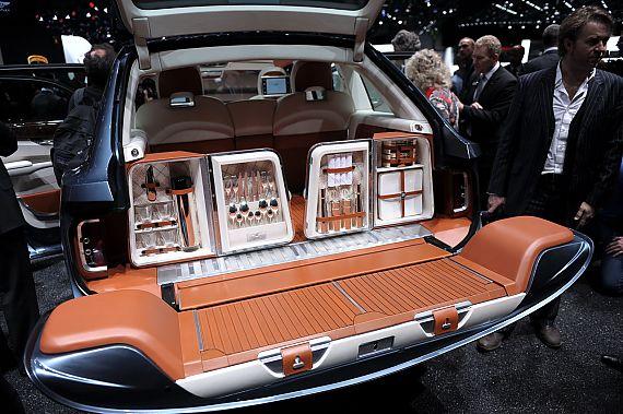 宾利EXP 9 F概念车