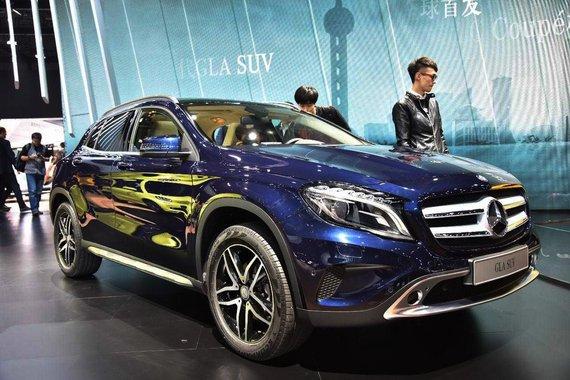 2015上海车展:奔驰GLA SUV