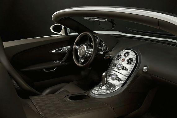 Bugatti Veyron 16.4 Grand Sport Roadster内饰图片