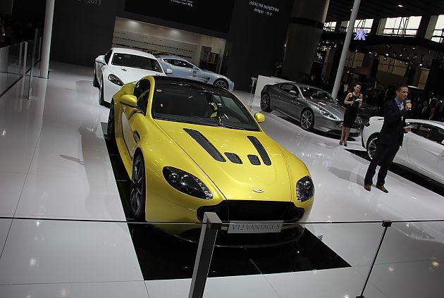 阿斯顿马丁V12 Vantage S中国首发
