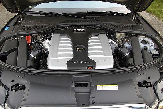 新浪汽车体验试驾奥迪A8L W12-其他