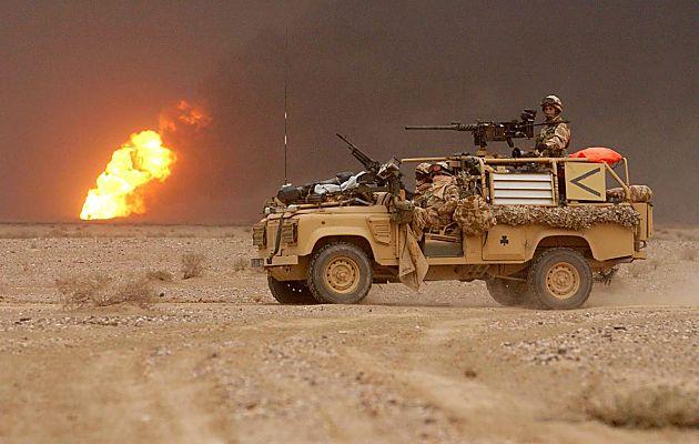 无畏向前的大不列颠 英国军用车辆概览