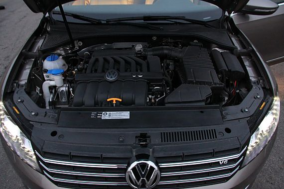 深度测试帕萨特V6
