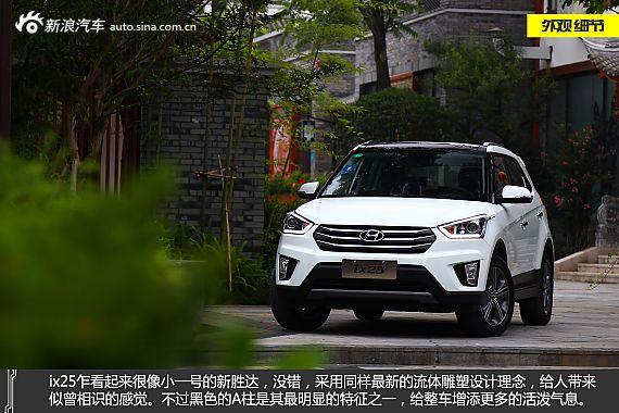 新浪汽车体验试驾北京现代ix25
