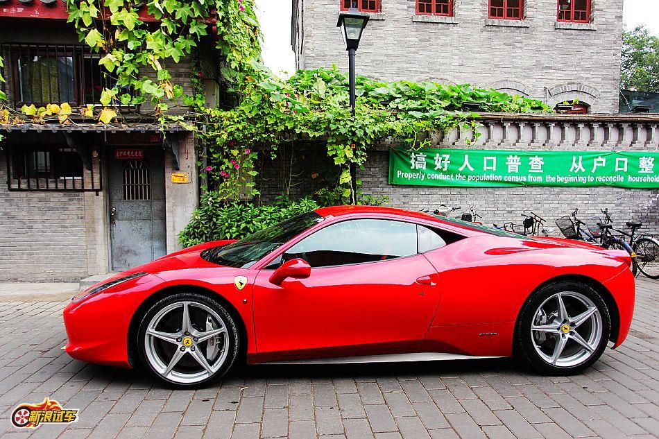 法拉利458 Italia外观图片