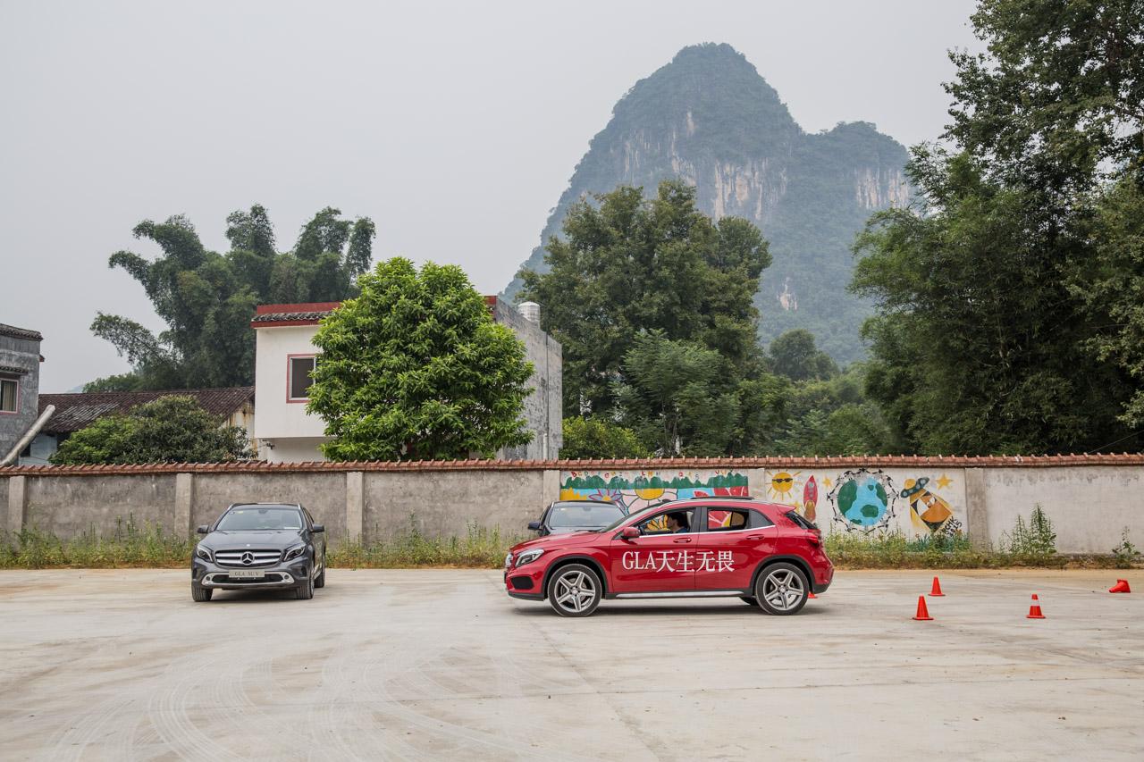 2015 奔驰GLA SUV试驾南区站圆满落幕_车猫网