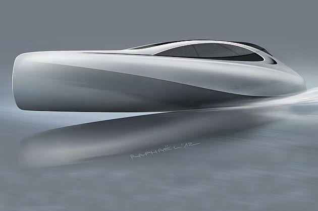 银箭概念游艇 奔驰欲驾驭大海