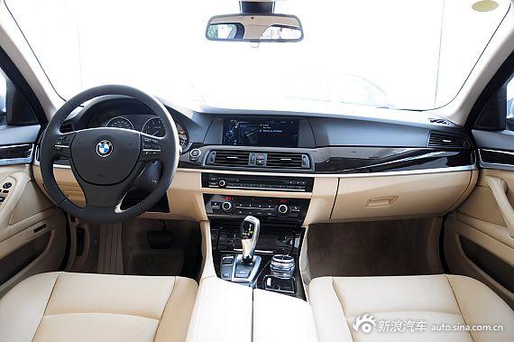 2013款宝马5系四门轿车长轴距版实拍