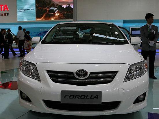 新卡罗拉1.6L广州优惠3000元购买需预订