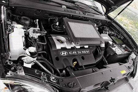华泰现代圣达菲柴油版发动机图片