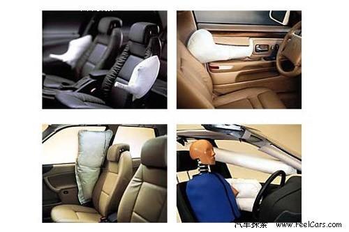 各种形状的侧气囊,目的都是为了有效地保护车内成员乘车安全