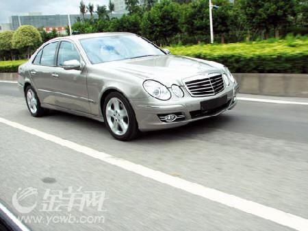 北京奔驰E230外观图片
